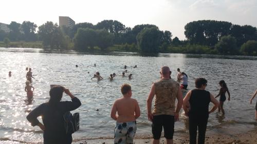 2016 Zwemmen in de Maas